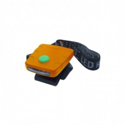 Linterna Frontal 3 LED + clip