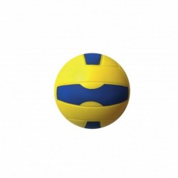 "Balon Esponja Pu. Volley 7""  Amarillo/Azul"